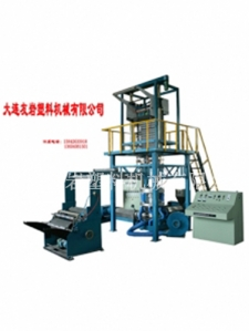 Double film blowing machine